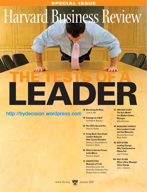 Harvard Business Review. 2007